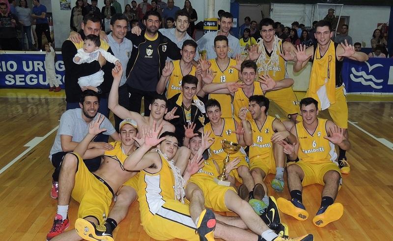 Zaninetti bicampeón de la Liga Provincial U19
