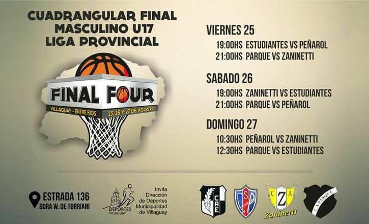 El título U17 se pone en juego en Villaguay