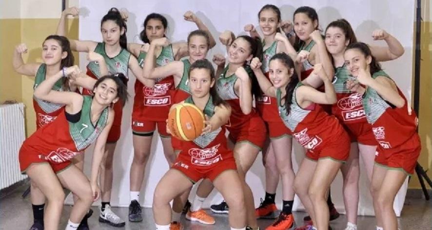 Las chicas U13 volvieron a festejar en el Argentino U13