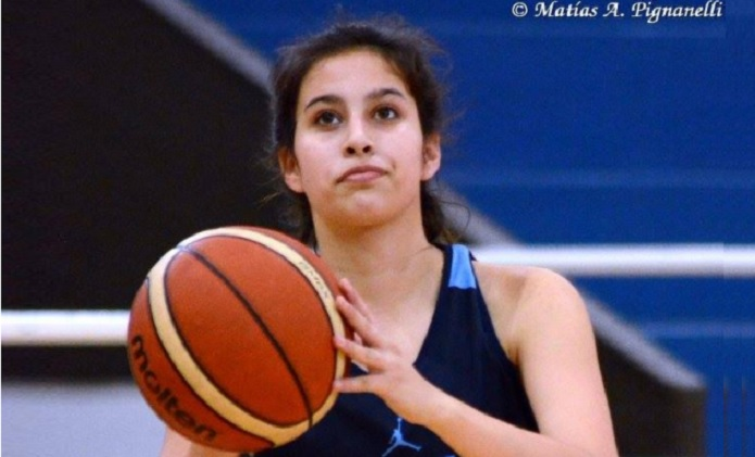 Agustina Marín quiere su lugar en el Sudamericano U14