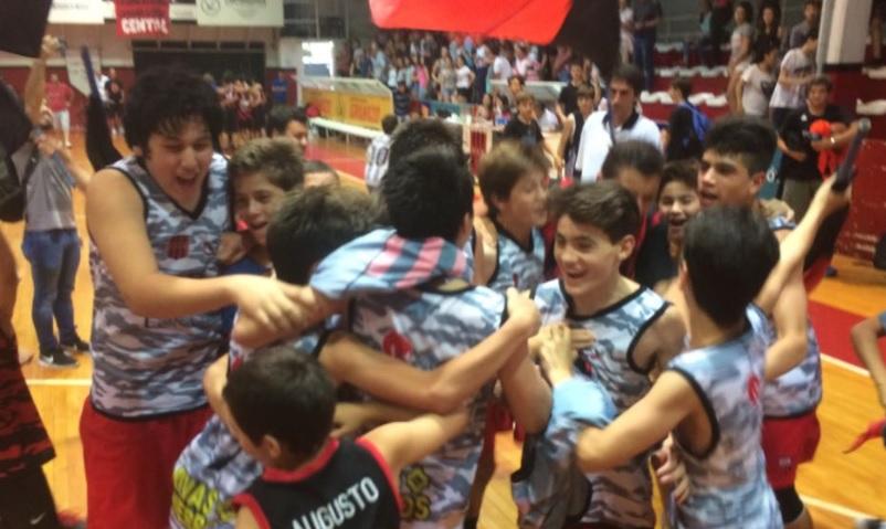 Central Entrerriano finalista de la Liga Nacional U13