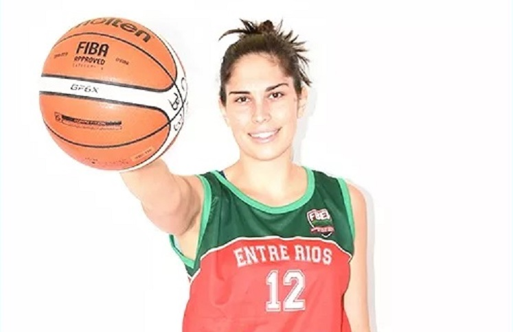 La entrerriana Brenda Schmidt viajará al Mundial 3x3