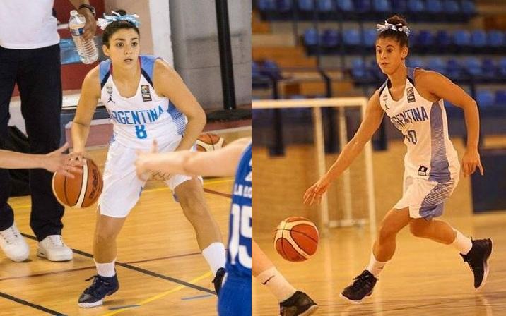 Sofía Wolf y Camila Suárez tienen su lugar en los Juegos ODESUR