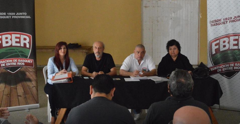 Reunión rumbo a la Liga Provincial de Mayores 2018/2019