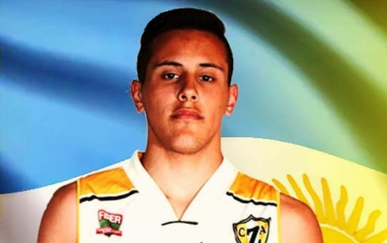 Thiago Scévola jugará el Campeonato Sudamericano U15