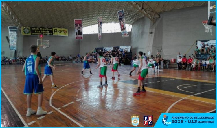 Entre Ríos se metió en cuartos del final del Argentino U13