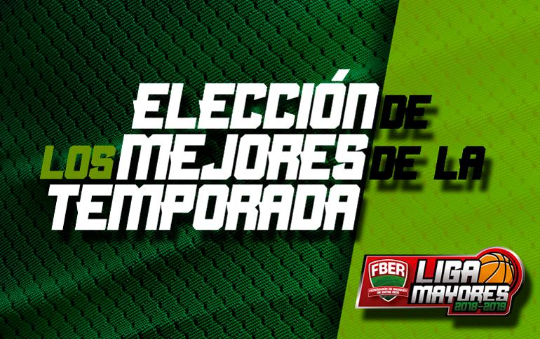 Liga de Mayores: Elección de los mejores de la temporada 2018/2019