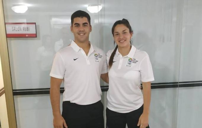 Sartori y Ratto en el FIBA Américas Youth Elite Camp