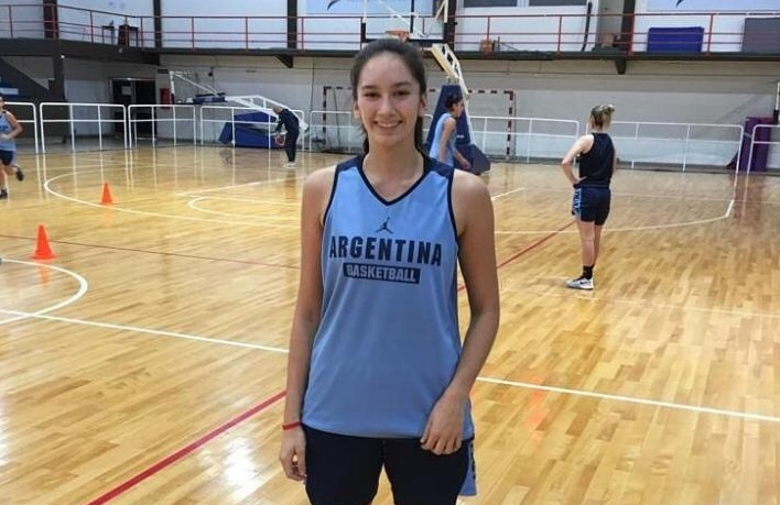 Agustina Marín y Iara Navarro entrenan con la Preselección U17