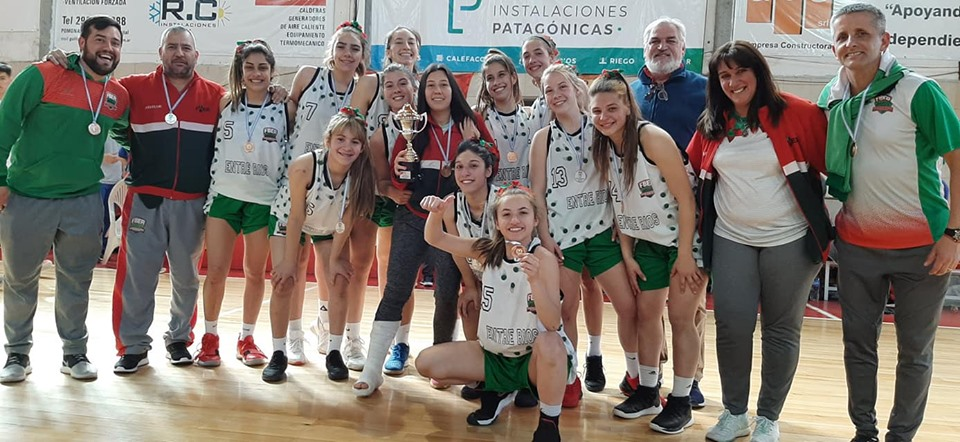 Entre Ríos se subió al podio en el Argentino Femenino U17