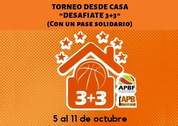 1° Torneo virtual desde casa mixto organizado por APB y APBF