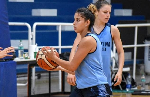 Agustina Marín quiere ganarse un lugar en el Premundial U18